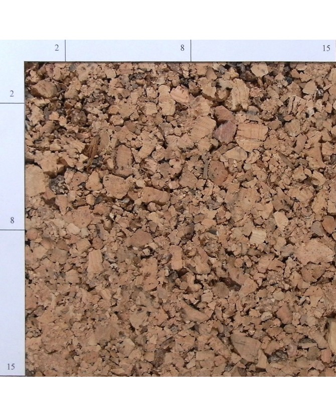 Liège d'isolation thermique et acoustique 20 mm en plaque de 0,50 x 1 m - par 2 plaques (1 m²) - 200/20