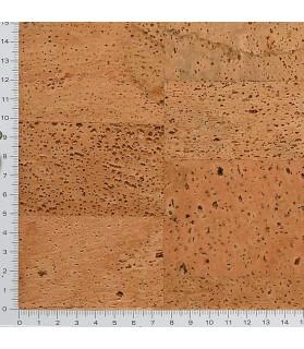 Liège de décoratif mural poncé - 3 mm par 5 dalles de 60 x 30 cm soit 0,90 m² - 41/ls22