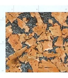 Liège de décoration murale double épaisseur - 6 mm par 6 dalles soit 1,08 m² noir - 157/6/mary
