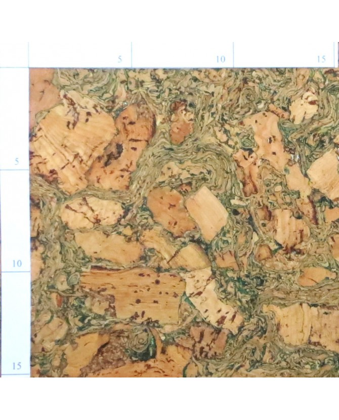 Parquet liège sapp sol à coller vernis satin - 6 dalles de 60 x 30 cm soit 1,08 m² - 305 sapphc c