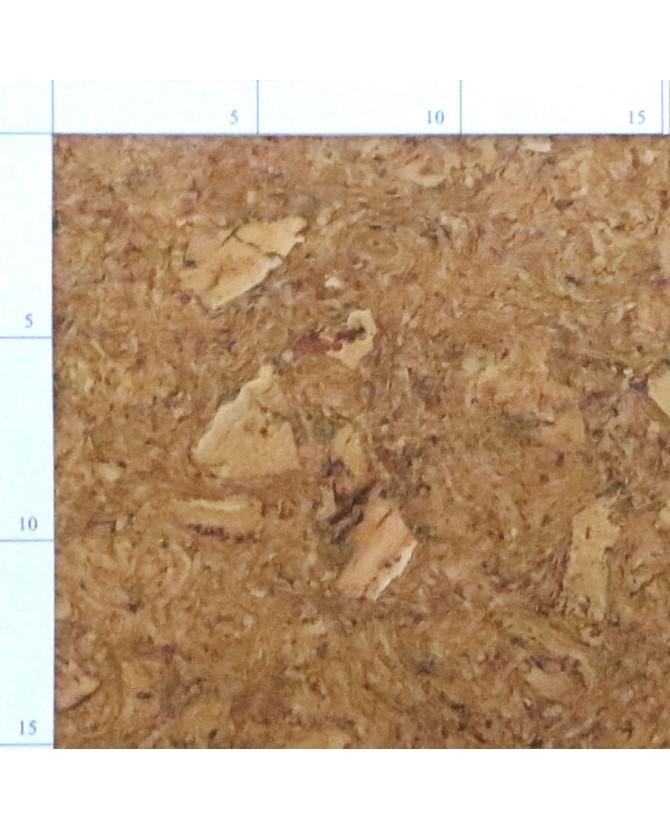 Parquet liège ruby sol à coller vernis satin - 6 dalles de 60 x 30 cm soit 1,08 m² - 306 riby c