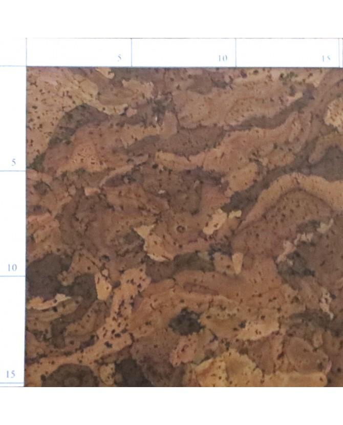 Parquet liège aqua sol à coller vernis satin - 6 dalles de 60 x 30 cm soit 1,08 m² - 310 aqua c