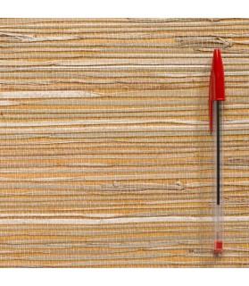 paille japonaise rustique jaune/naturel 823