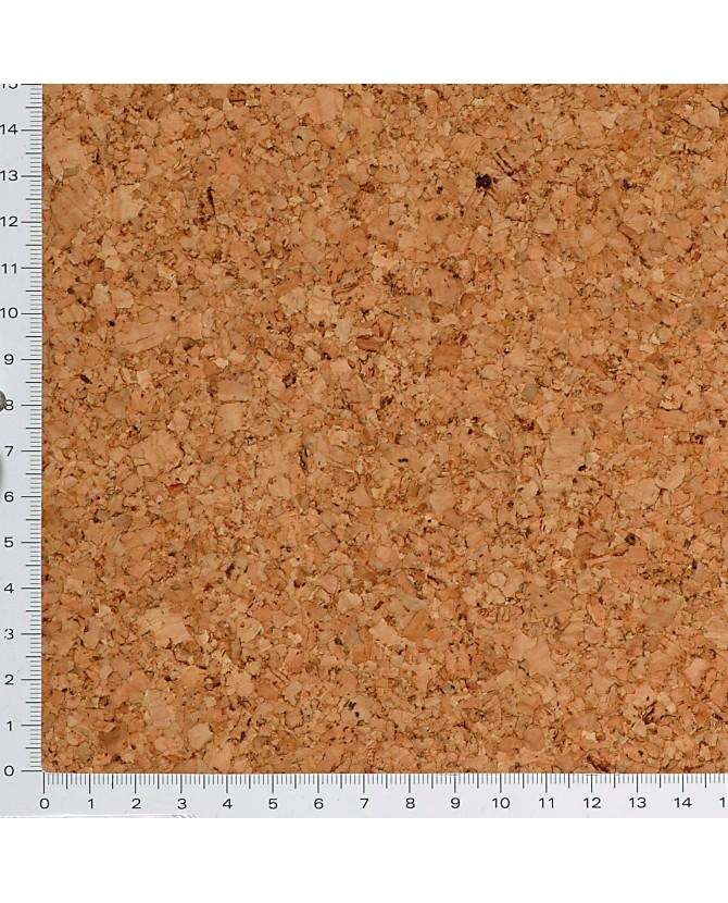 Parquet liège naturel sol à coller vernis satin - 11 dalles de 30 x 30 cm soit 0,90 m² - 61 l01