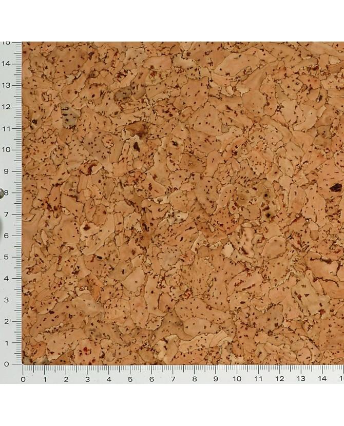 Parquet liège naturel sol à coller vernis satin - 11 dalles de 30 x 30 cm soit 0,90 m² - 62 l03