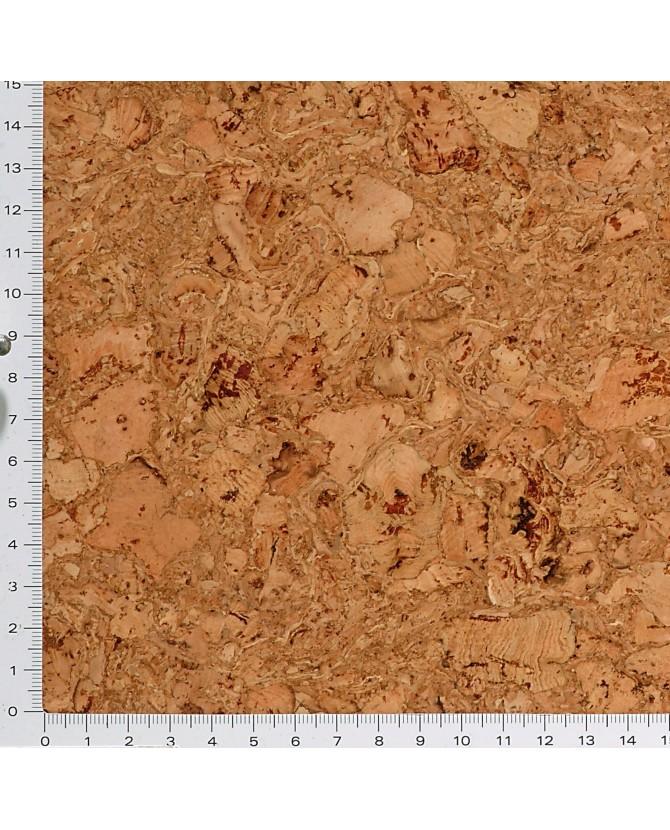 Parquet liège naturel sol à coller vernis satin - 11 dalles de 30 x 30 cm soit 0,90 m² - 64 l05