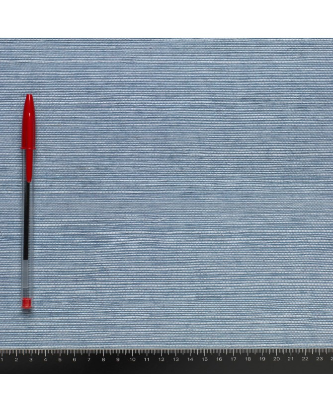 paille japonaise ultra fine bleu dense 204