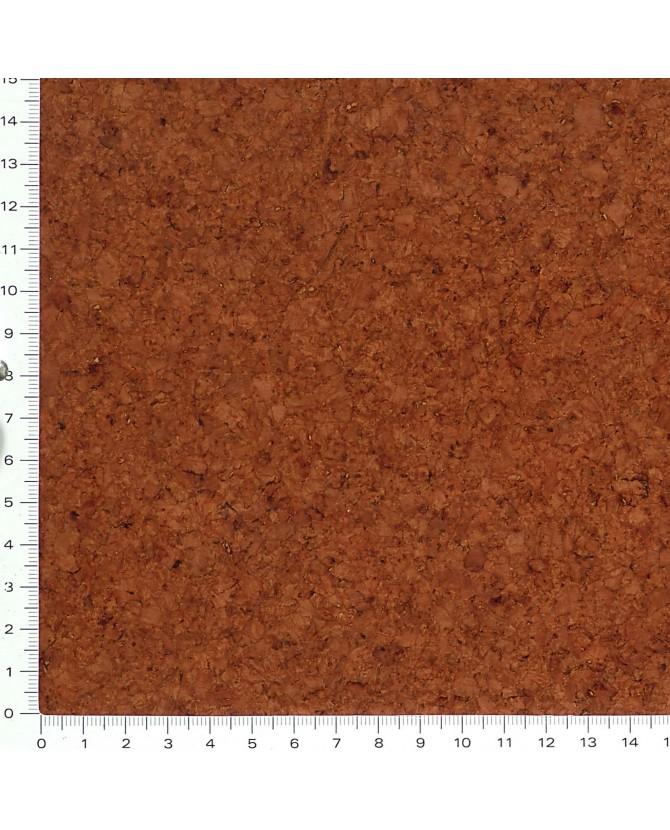 Parquet liège naturel sol à coller vernis satin - 11 dalles de 30 x 30 cm soit 0,99 m² - 63 L04